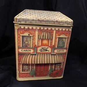 Hall Bro's Vintage collectors tin